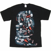 Slipknot Illusion T Shirt