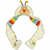 Rainbow Brite Twink Furry Snood Beanie