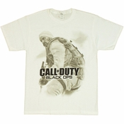 Call of Duty Black Ops Faded T Shirt