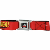 Big Bang Theory Bazinga Seatbelt Mesh Belt