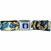 Doctor Who Pandorica Opens Seatbelt Mesh Belt