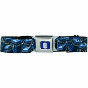Doctor Who TARDIS Collage Seatbelt Mesh Belt