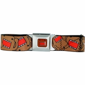 Domo Kun Collage Seatbelt Mesh Belt