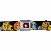 Thundercats Toon Heads Seatbelt Mesh Belt