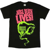 Judge Dredd Death Lives T Shirt