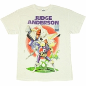 Judge Dredd Judge Anderson T Shirt
