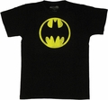 Batman Vintage Circle T-Shirt Sheer