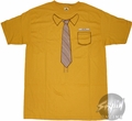 Office Yellow Shirt T-Shirt