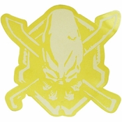 Halo Legendary White Sticker