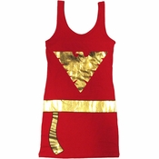 X Men Dark Phoenix Costume Tank Top Dress