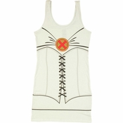 X Men Emma Frost Costume Tank Top Dress