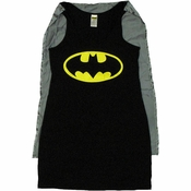 Batman Costume Tank Top Dress