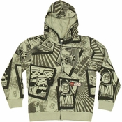 Star Wars Lego Dark Side Juvenile Hoodie