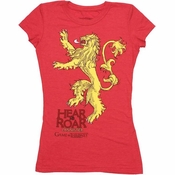 Game of Thrones Lannister Roar Baby Tee