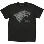 Game of Thrones Subtle Direwolf T Shirt