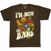 Muppets With Band T Shirt Sheer