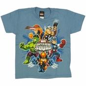 Marvel Hero Squad Juvenile T-Shirt