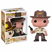 Walking Dead Rick Pop TV Vinyl Figurine