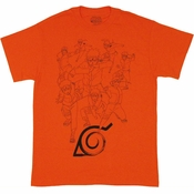 Naruto Shadow Clone T Shirt