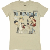 Dr Horrible Sing Along Baby Tee