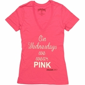Mean Girls Wear Pink Baby Tee