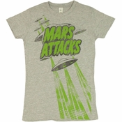 Mars Attacks Flying Saucers Baby Tee