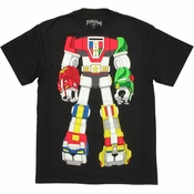 Voltron Robot Body T Shirt