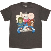 Regular Show Cast T Shirt