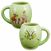 Dr Seuss Grinch Oval Mug