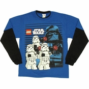 Star Wars Lego Troopers Long Sleeve Youth T Shirt