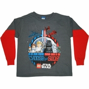 Star Wars Lego Choose Juvenile T Shirt