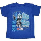 Star Wars Lego Clone Troopers Juvenile T Shirt