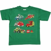 Lego Duplo Vehicles Toddler T Shirt