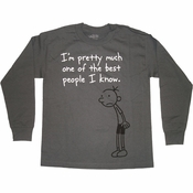 Diary of a Wimpy Kid Best Gray Youth T Shirt