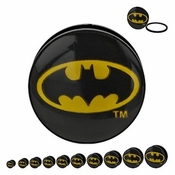 Batman Oval Logo Acrylic Plugs