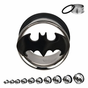 Batman Die Cut Steel Plugs
