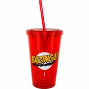 Big Bang Theory Bazinga Travel Cup