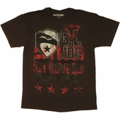 GI Joe Retaliation Galvanized T Shirt