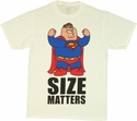 Family Guy DC Size Matters T Shirt