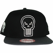 Punisher Outline Logo Hat
