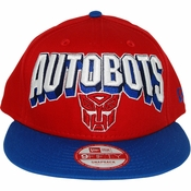 Transformers Autobot Block Name Hat