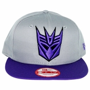 Transformers Decepticon Classic Gray Hat