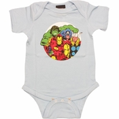 Avengers Comic Circle Snap Suit