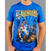 Avengers Cover T Shirt Sheer