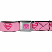 Supergirl Logo Seatbelt Mesh Belt
