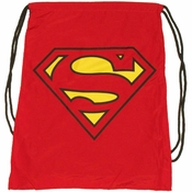 Superman Cape Drawstring Backpack