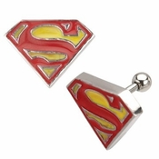 Superman Cartilage Earring