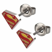 Superman Die Cut Stud Earrings