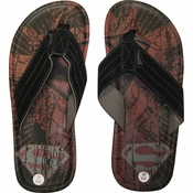 Superman Logo Sandals