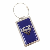 Superman Metal Luggage Tag